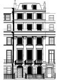 Wilton Crescent, Robin Walker Architects, Residential architecture, London, UK, RIBA.